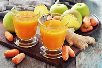 نوشیدنی ترکیبی برای مبارزه با سرطان؛ آب سیب، هویج و زنجبیل
