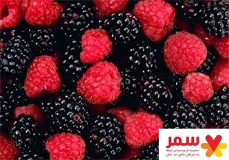 تمشک؛ میوه ای برای مبارزه با سرطان