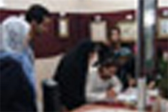 سمر در بیمارستان امام حسین